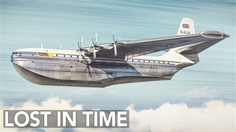What Happened To Giant Flying Boats? Saunders-Roe Princess