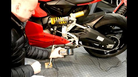 Installing a motorcycle battery tender on the Panigale