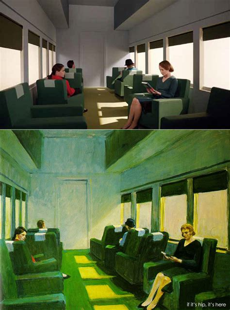 13 Edward Hopper Paintings Recreated As Movie Sets