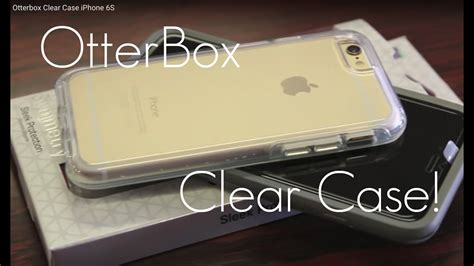 The Best CLEAR CASE for iPhone? - Otterbox Symmetry Clear