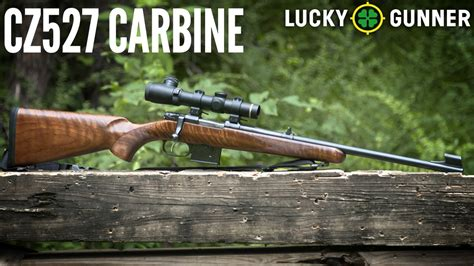 CZ 527 Carbine: 60 Second Review - YouTube