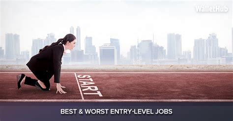 2017's Best & Worst Entry-Level Jobs | WalletHub®