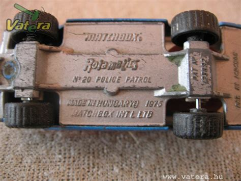 Hungarian Diecast: Diecast Toys - Made in Hungary: Matchbox