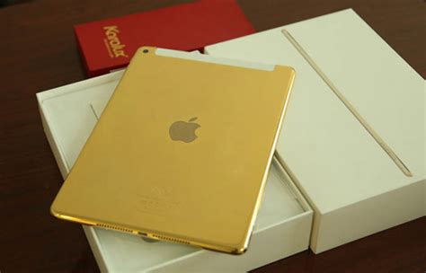 This Is What A 24K Gold iPad Air 2 Looks Like – TechCrunch