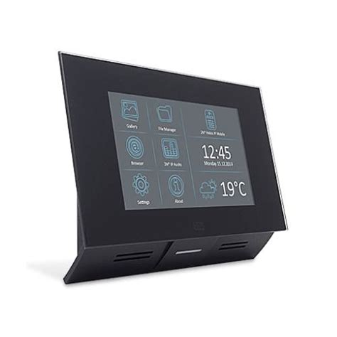 2N Indoor Touch PoE Intercom System - Black - 91378365