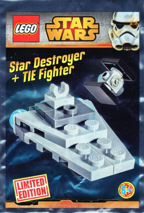 SW911510-1: Micro Star Destroyer and TIE Fighter