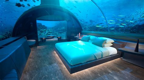 You Can Soon Stay at the World's First Underwater Villa