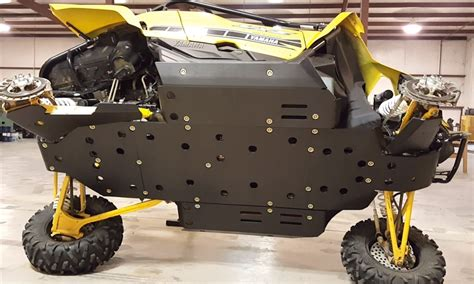 Trail Armor Yamaha YXZ 1000R Full Skids with Integrated