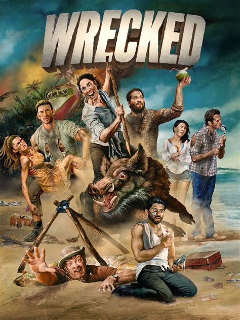Wrecked TV Show: News, Videos, Full Episodes and More   TV