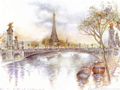 Eiffel tower drawing — the eiffel tower is one of the most