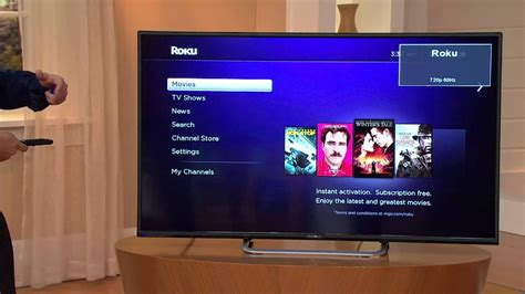 """Proscan 50"""" LED 1080p HDTV with Roku Stick with Alberti"""
